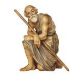 ANRI nativity - Shepherd kneeling