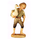 Ulrich Bernardi nativity - Boy with goose