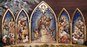 ANRI Relief Nativity
