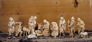anri - original walter bacher nativity - plain wood