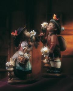 Juan Ferrandiz - Golden Blossom - Edelweiß